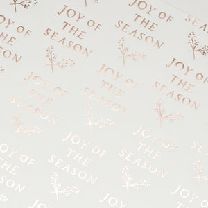 Joy Of The Season Foil Wrap