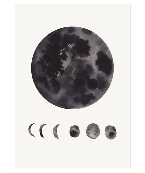 Product Image Phases Of The Moon Print
