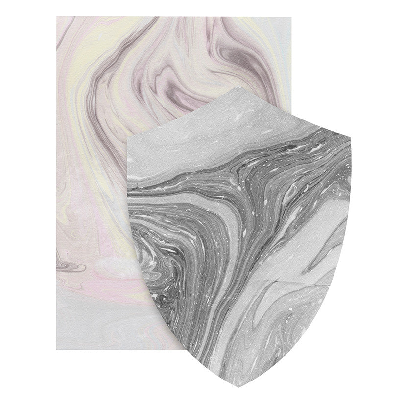 Load image into Gallery viewer, Marble Shield Card - Blush & Cloud