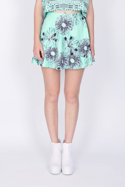 ZIZTAR Dragonfly In Love Mini Skirt
