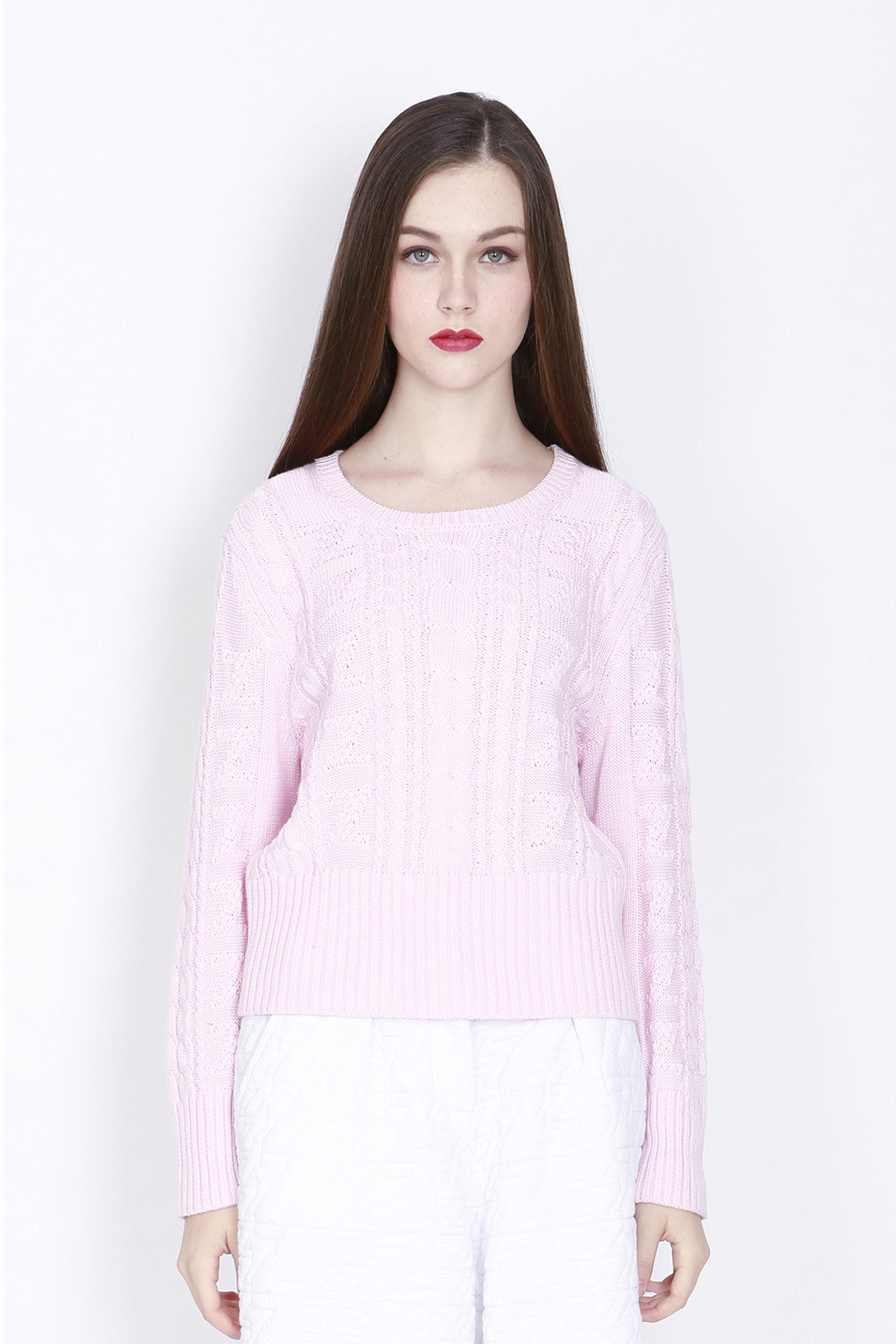 ZIZTAR Rosemary Cable Jumper