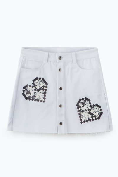 ZIZTAR Build Your Love Around the World Mini Skirt