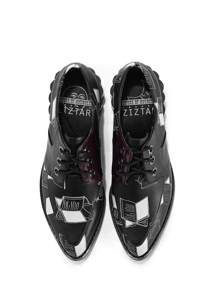 PRE-ORDER - Try To Read Me BLK Shoes