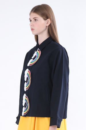 ZIZTAR Triple Rainbows Jacket - ZIZTAR
