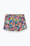 ZIZTAR I Met Different You Mini Shorts