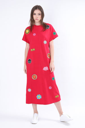 ZIZTAR Smile In Your Way Dress - ZIZTAR