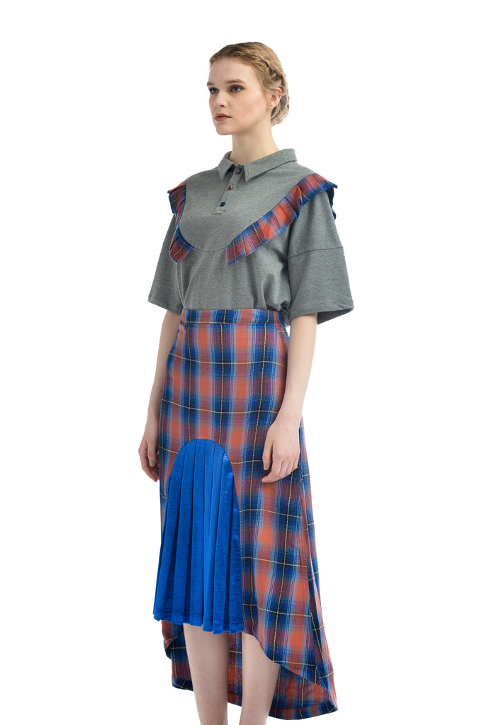 ZIZTAR Checked Girl Skirt - ZIZTAR