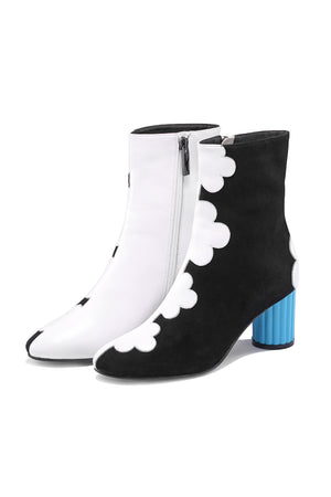 Petal Around The Edge BLK Boots