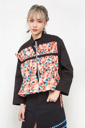 ZIZTAR Sheet of Flowers in Heart Jacket - ZIZTAR