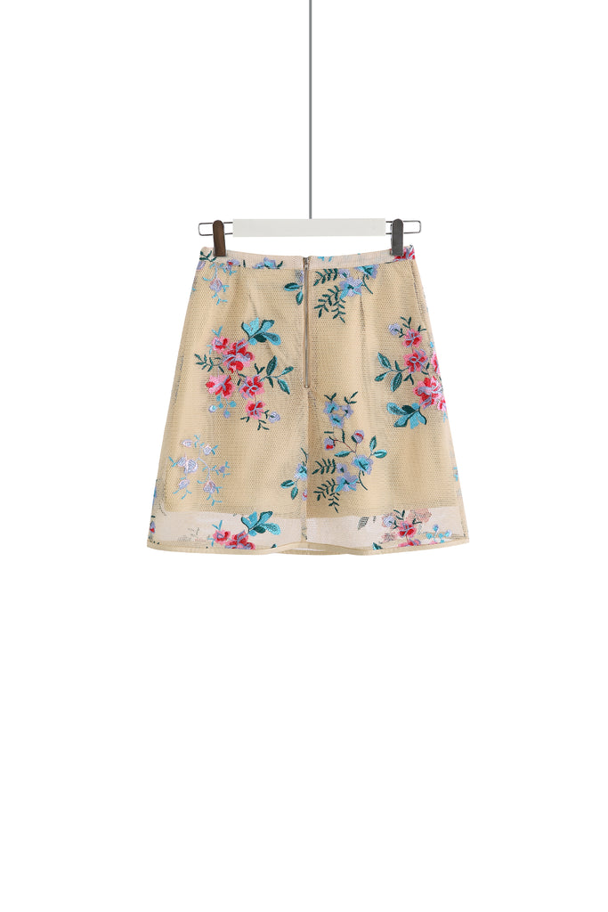 ZIZTAR Don't ask, just bloom skirt