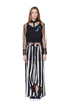 ZIZTAR Illusion Collar Pants - ZIZTAR