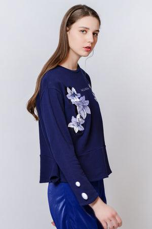 ZIZTAR Symmetric Blooming Top