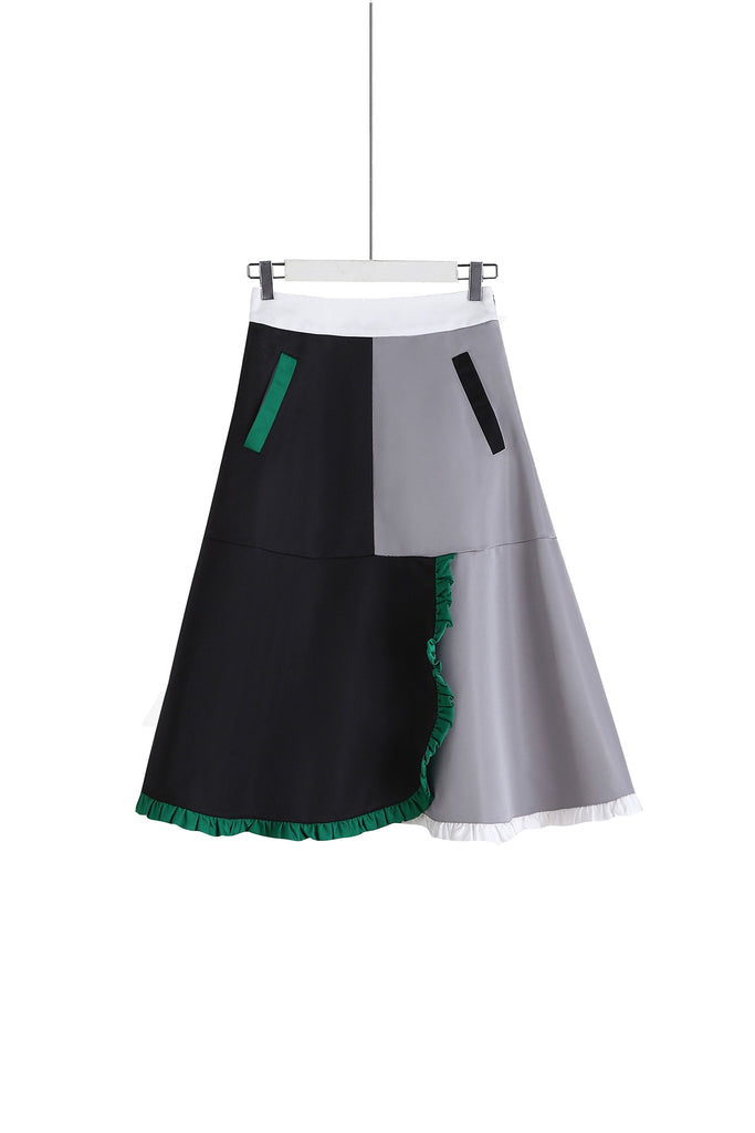ZIZTAR Not Just Flare Skirt