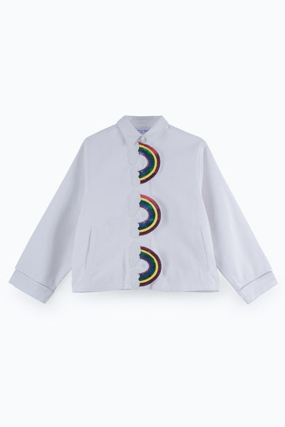 ZIZTAR Triple Rainbows Jacket