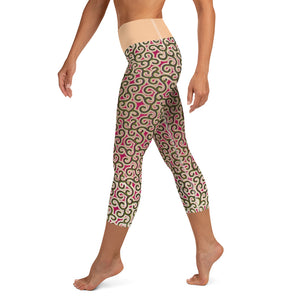 Yoga Capri Leggings - Ba Ntu Alternative