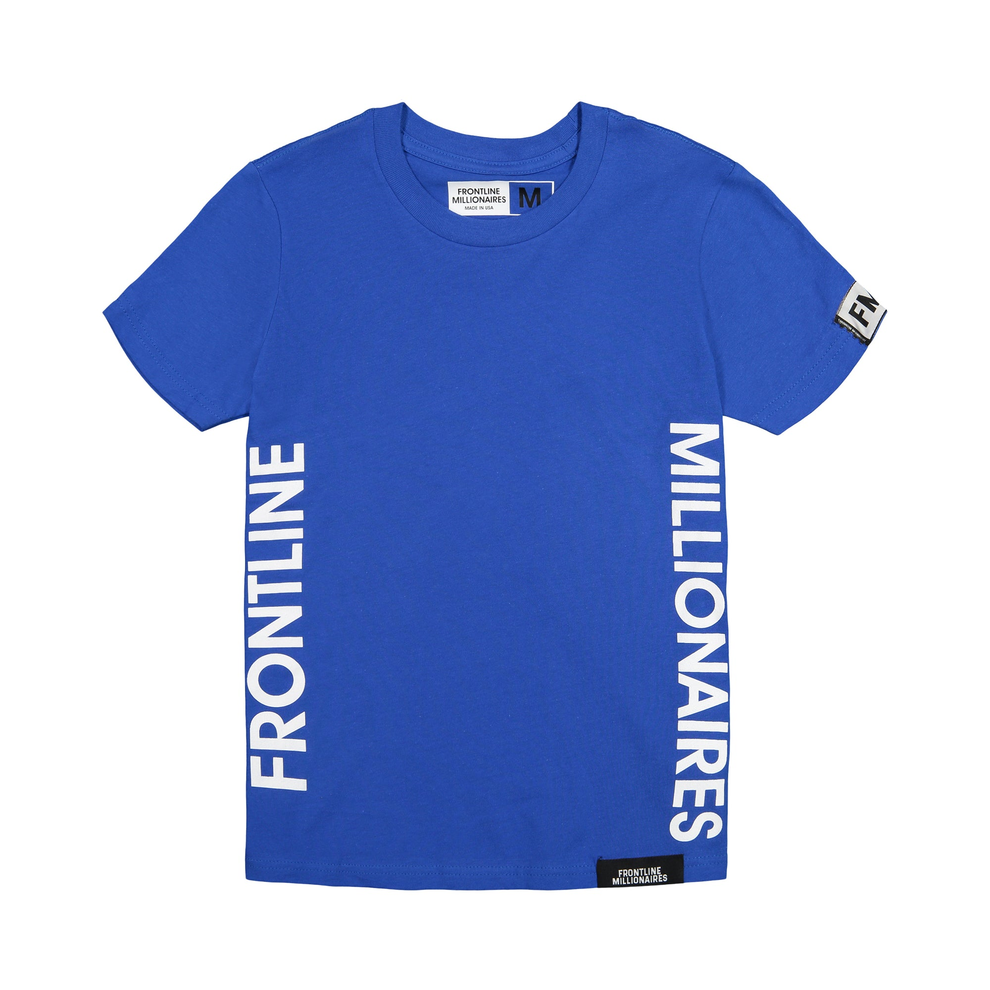 frontline millionaires sideline youth tee