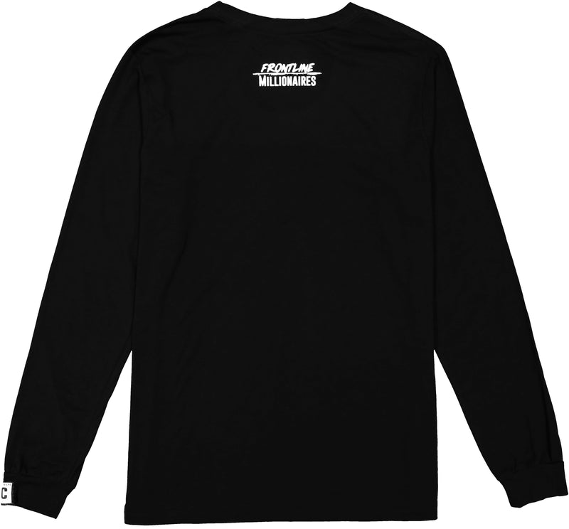 never fold long sleeve tee