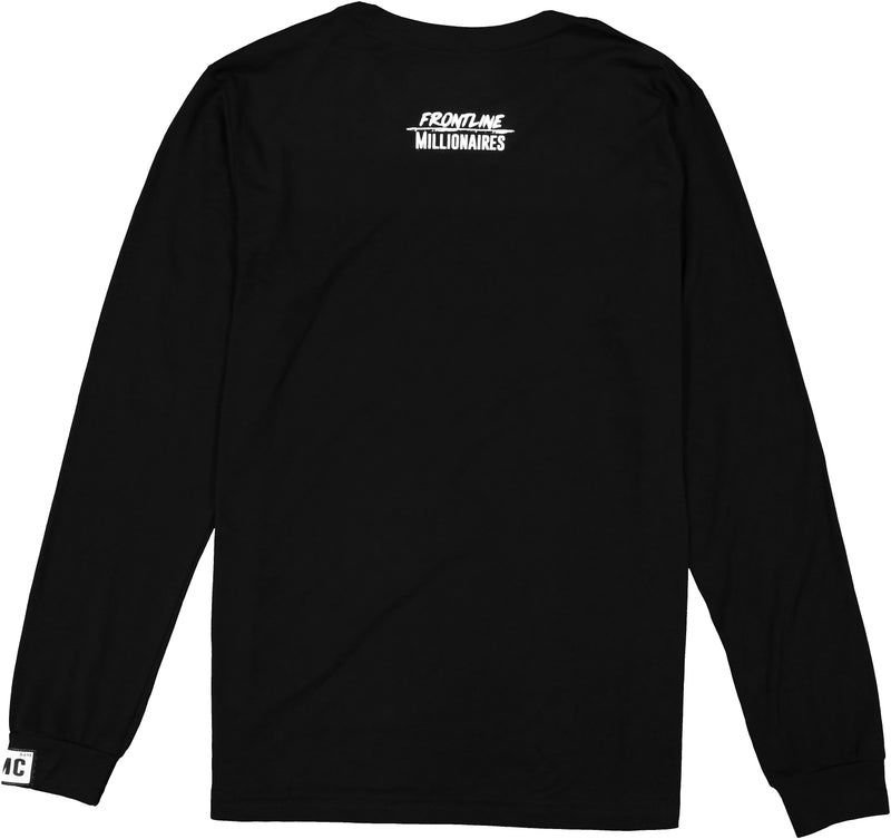 love overpowers hate long sleeve tee