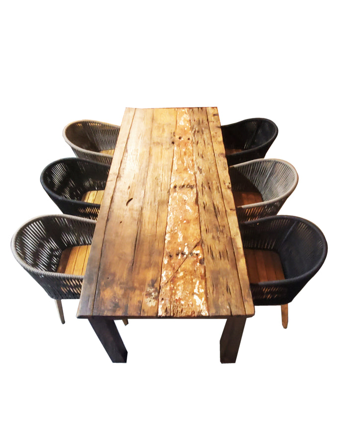 Reclaimed Boatwood Dining Table