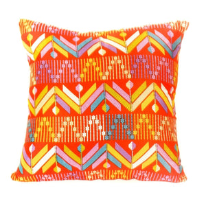 Bali Throw Pillow,  Peaks