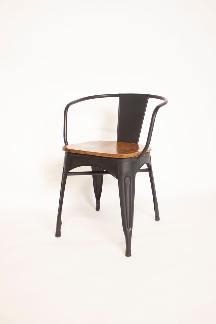 Chair, Steel and Wood