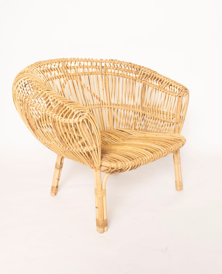 Oversized Rattan Chair