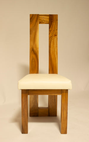 Dining Table Chairs, Suar Wood