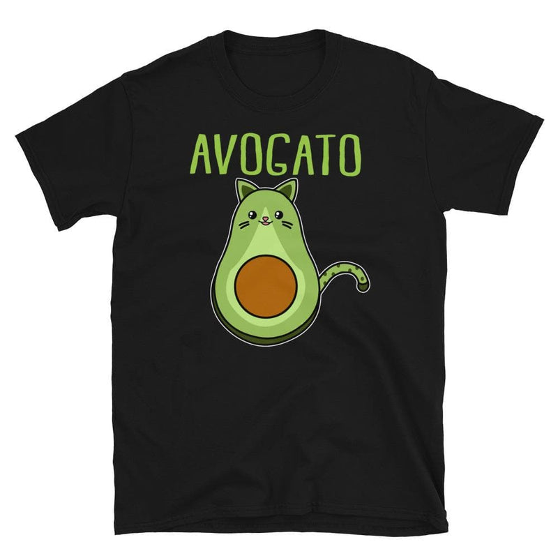 Unisex Avogato Cat Tee-Animal Teeze