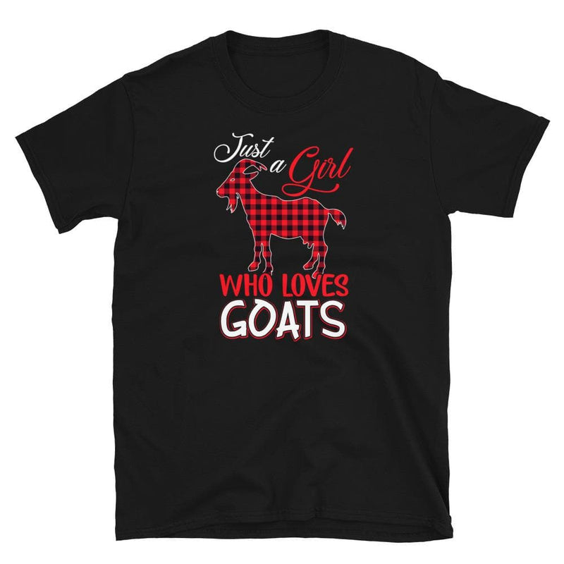 Unisex Girl Who Loves Goats Softstyle Tee