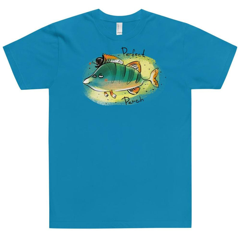 Happy River Perch American Apparel Unisex Shirt