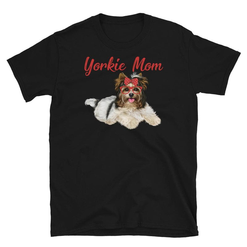 Yorkie Mom Unisex Softstyle Shirt
