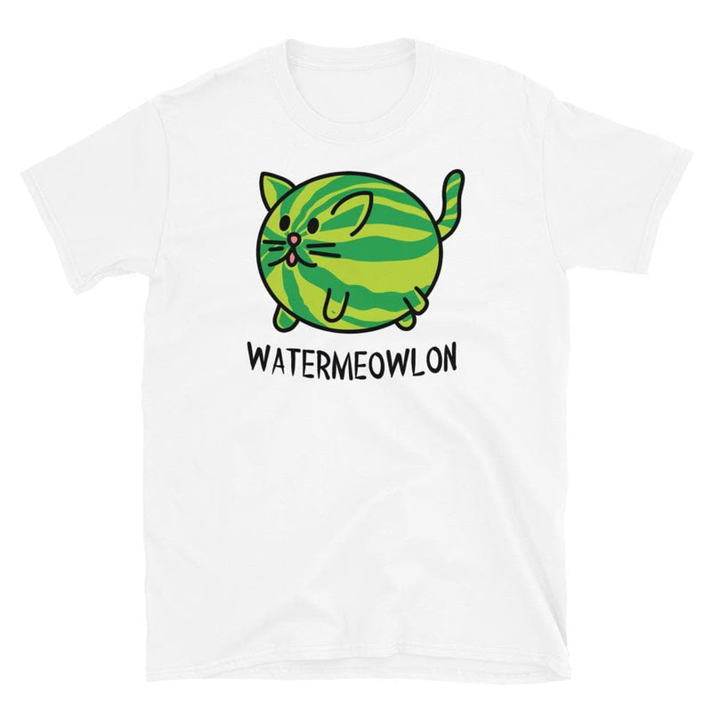 Watermeowlon Cat Unisex Softstyle Shirt