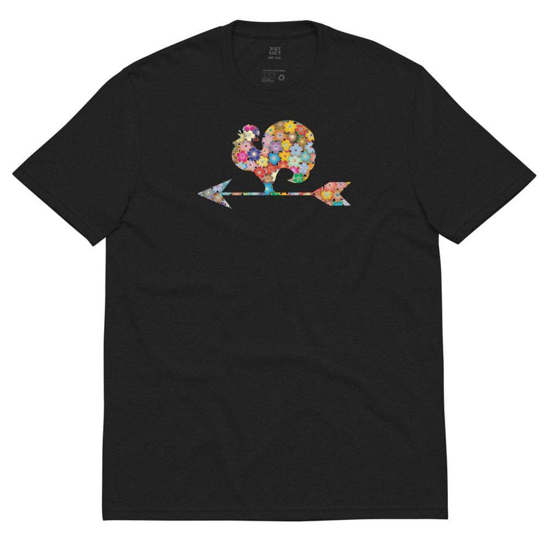 Womens Recycled Flowered Rooster Tee