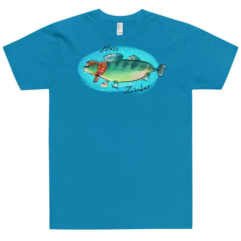 Unisex Happy River Zander American Apparel Tee
