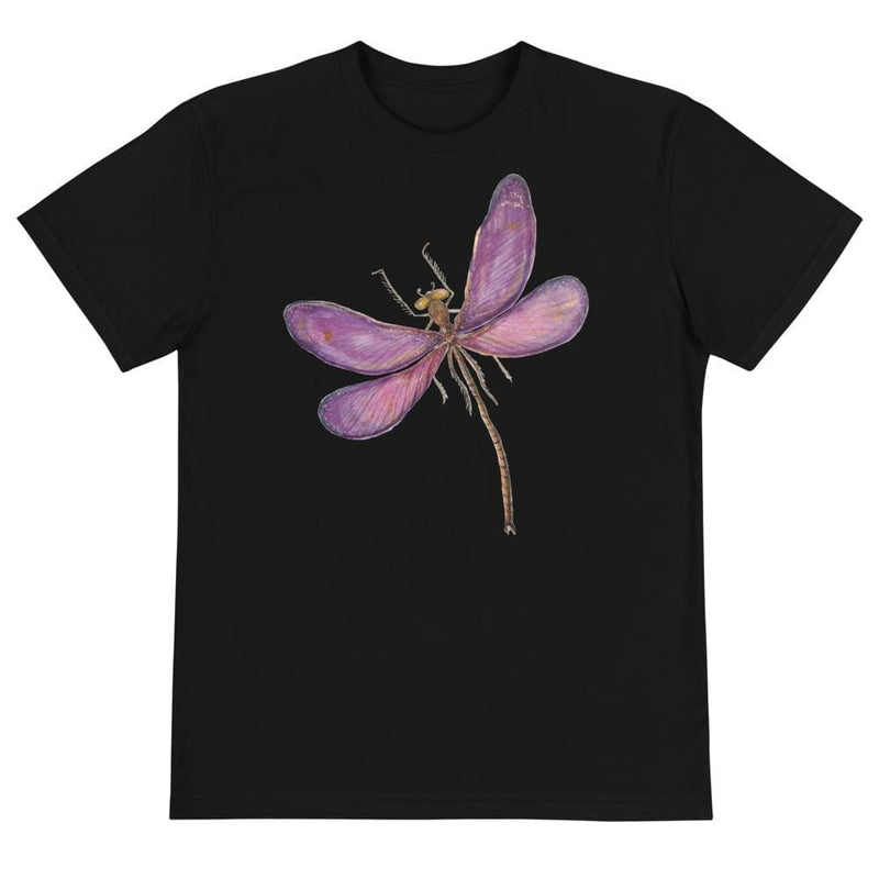 Ladies Purple Dragonfly Next Level Sustainable Tee