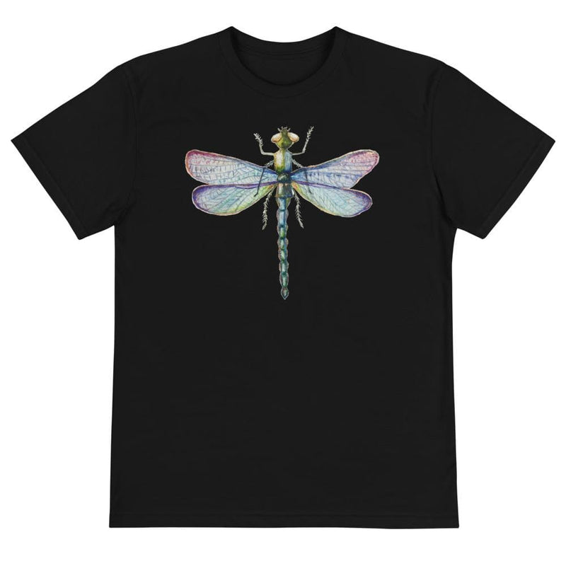 Emerald Dragonfly Next Level Sustainable Womens Shirt