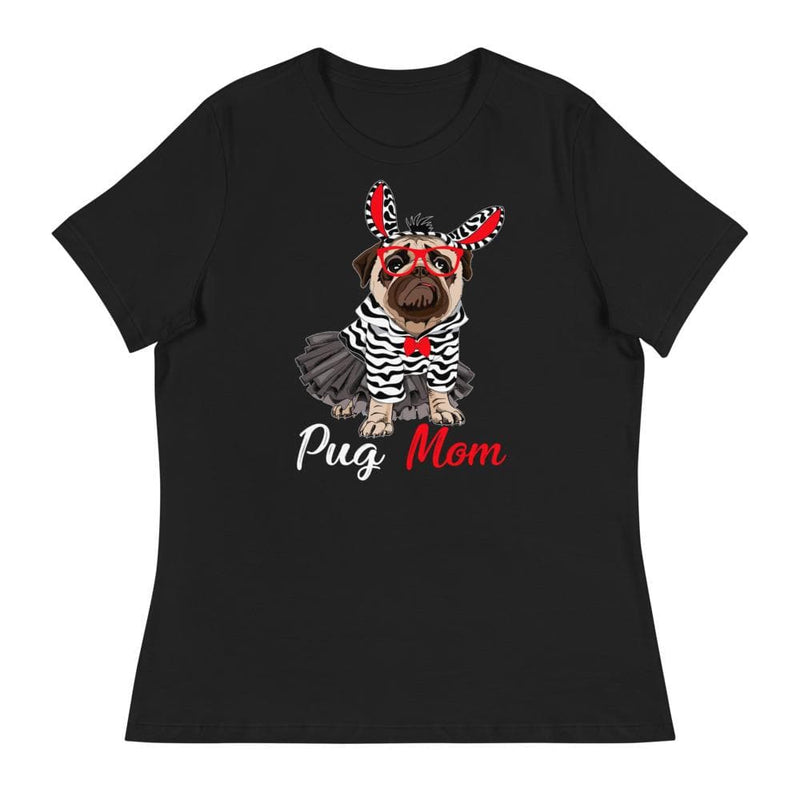 Pug Mom Bella + Canvas Relaxed Fit Shirt