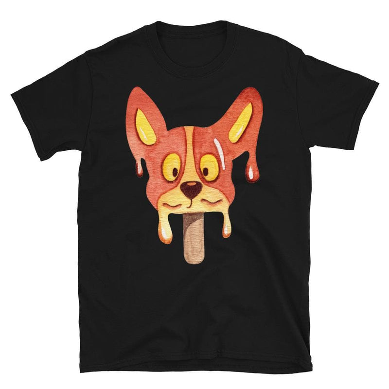 Brown Dog Ice Cream Unisex Softstyle Shirt