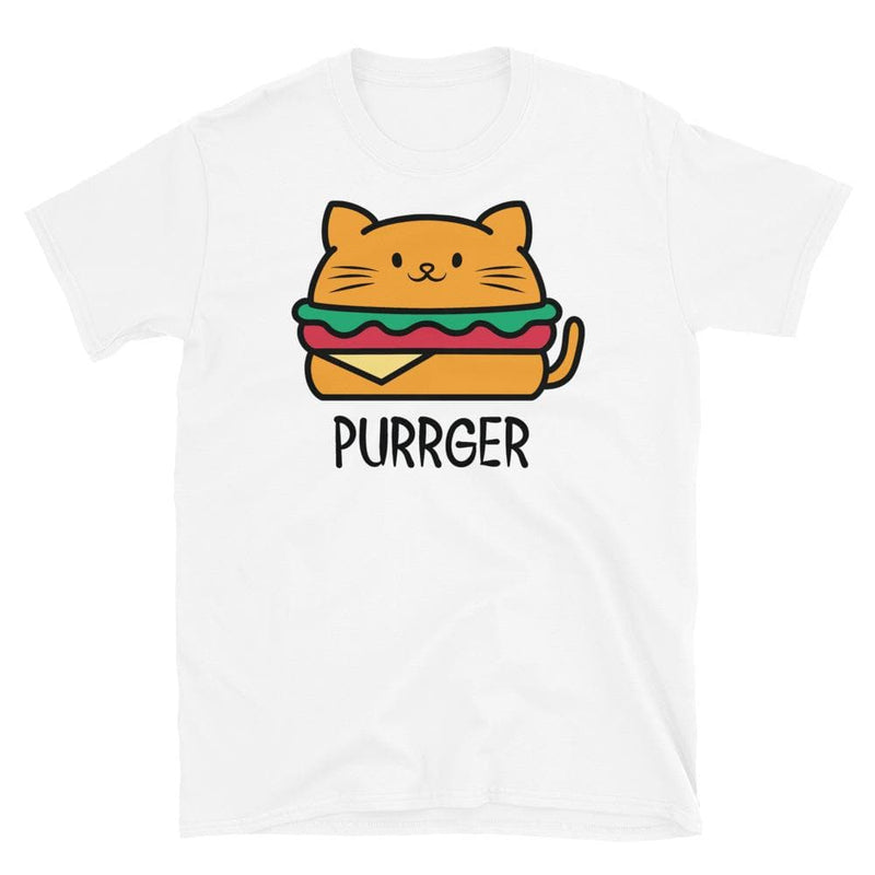 Purrger Cat Unisex Softstyle Shirt