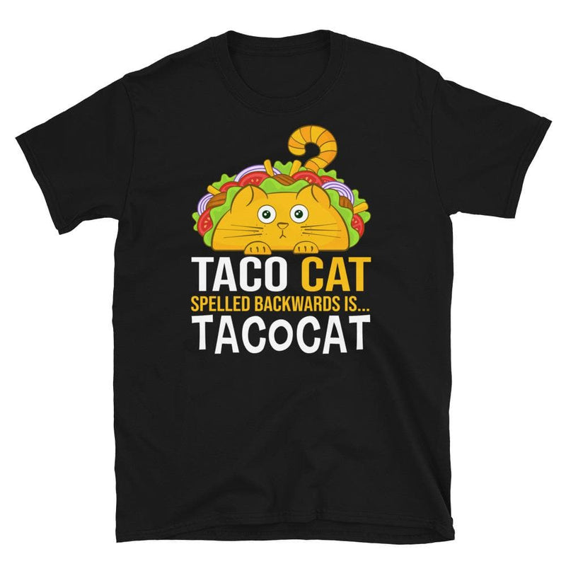 Taco Cat Palindrome Unisex Softstyle Shirt