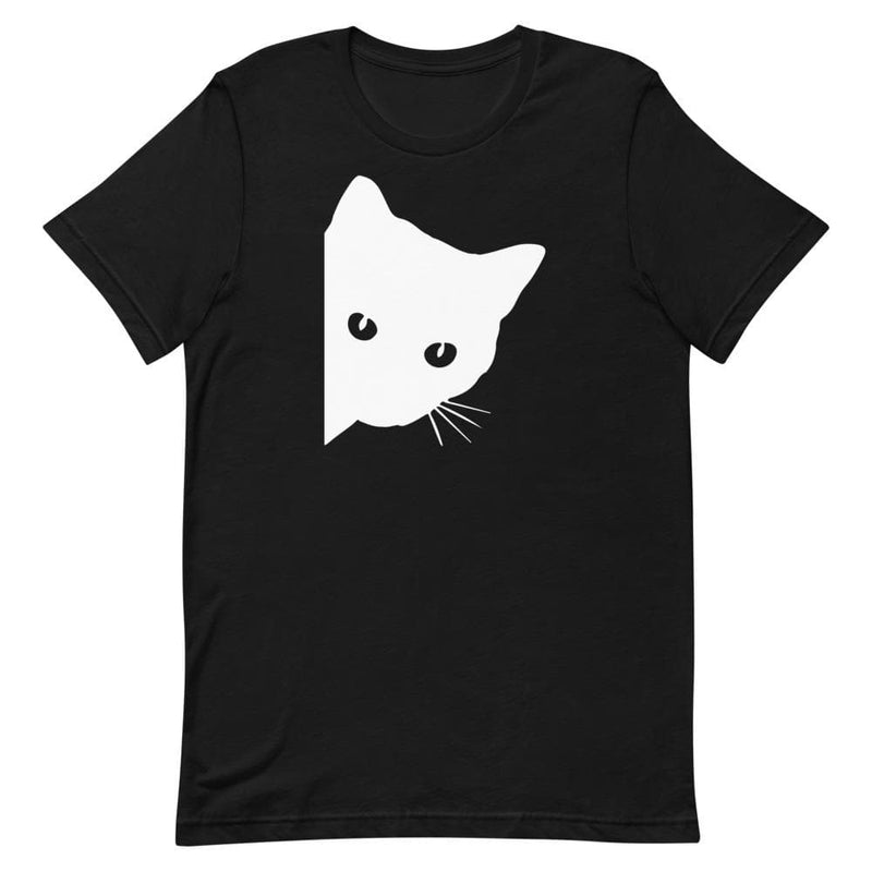 Peek a Boo Cat Bella + Canvas Womens Shirt