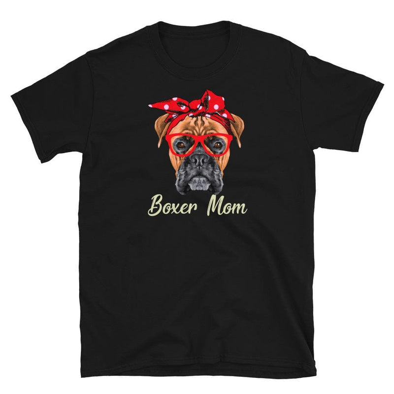 Boxer Mom Bandana Shirt