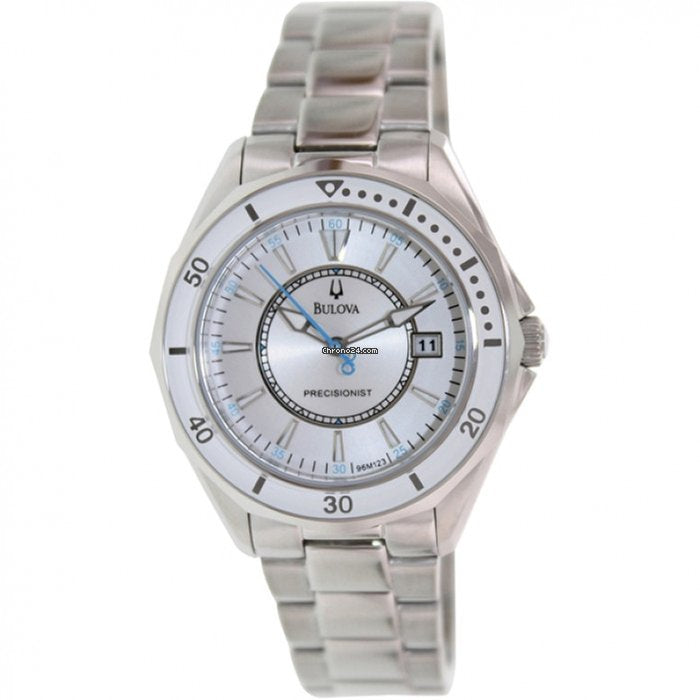 Precisionist Winterpark Silver White Dial Stainless Steel Ladies Watch Item No. 96M123
