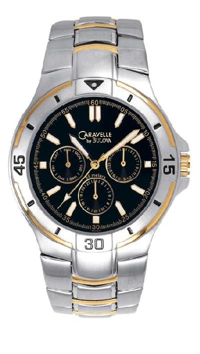 Men's Caravelle sport watch. Model # 45C20
