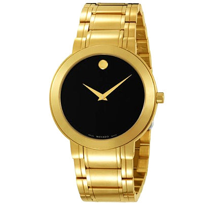 Ladies Movado Women's 606196 Stiri Gold-Plated Stainless-Steel Watch.