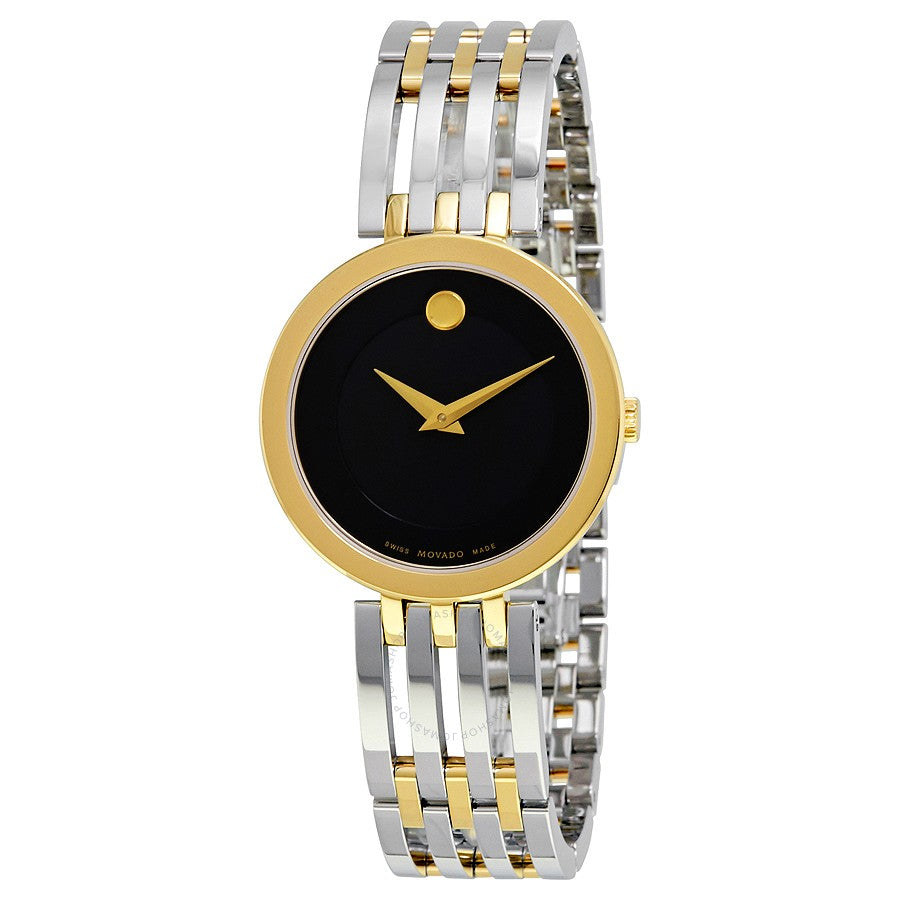 Ladies Esperanza Black Museum Dial Ladies Watch. Model #  0607053
