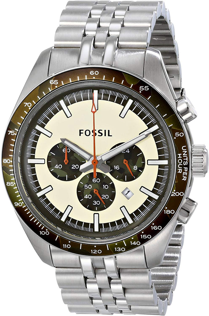 Fossil Men's CH2913 Edition Sport Analog Display Analog Quartz Silver Watch