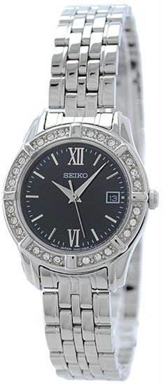 SEIKO Dress Quartz Stainless Steel Ladies Watch Item No. SXDE45