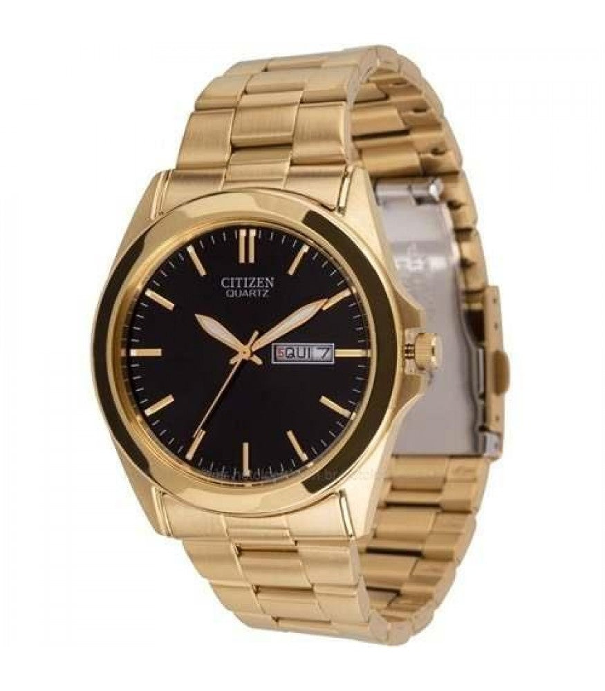 Men's Citizen Men's BF0582-51F Analog Display Japanese Quartz Gold Watch