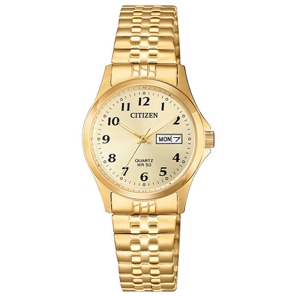 Citizen Men's Gents Fashion Watch BF5002-99P, Gold